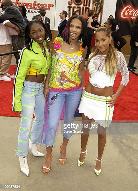 3LW during The 17th Annual Soul Train Music Awards Arrivals at Pasadena Civic Auditorium in Pasadena California United States