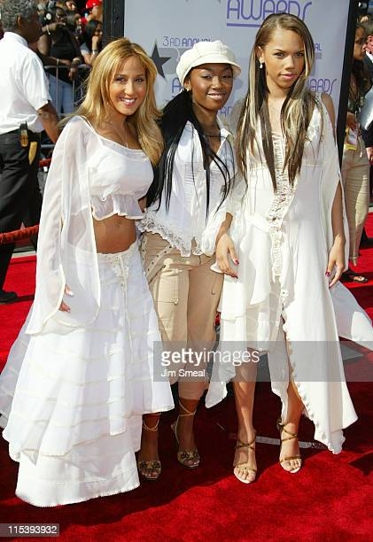 3LW during The 3rd Annual BET Awards Arrivals By Galella Ltd at The Kodak Theater in Hollywood California United States