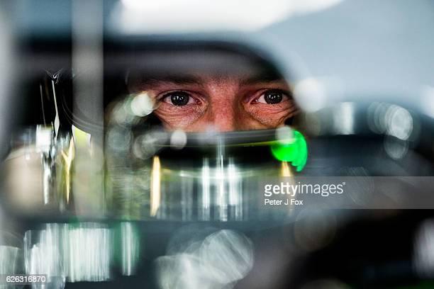 during the Abu Dhabi Formula One Grand Prix at Yas Marina Circuit on November 27 2016 in Abu Dhabi United Arab Emirates