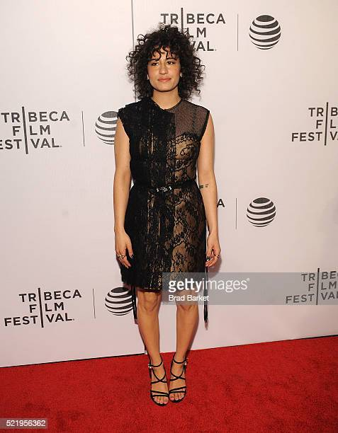 Actor Ilana Glazer attends the Tribeca Tune In Broad City during the 2016 Tribeca Film Festival at Spring Studios on April 17 2016 in New York City