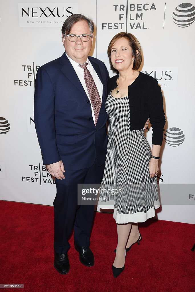 Show creators Robert King and Michelle King attend the Tribeca Tune In 'The Good Wife' during the 2016 Tribeca Film Festival at John Zuccotti Theater...