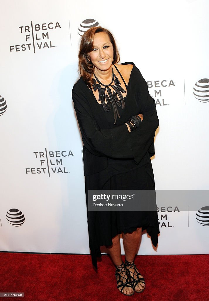 Fashion designer <a gi-track='captionPersonalityLinkClicked' href=/galleries/search?phrase=Donna+Karan+-+Fashion+Designer&family=editorial&specificpeople=4206478 ng-click='$event.stopPropagation()'>Donna Karan</a> attends Tribeca Talks Daring Women Summit during the 2016 Tribeca Film Festival at Spring Studios on April 20, 2016 in New York City.