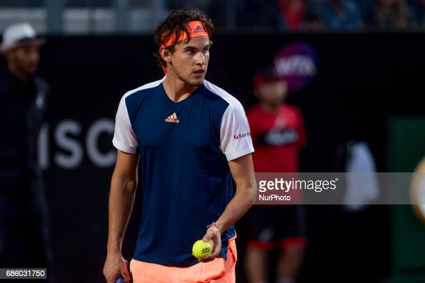 during the ATP World Tour Masters 1000 Internazionali BNL D'Italia at the Foro Italico Rome Italy on 20 May 2017