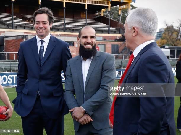 during the Bachar Houli Programs 2017 AFL Eid Celebration at Punt Road Oval on June 26 2017 in Melbourne Australia