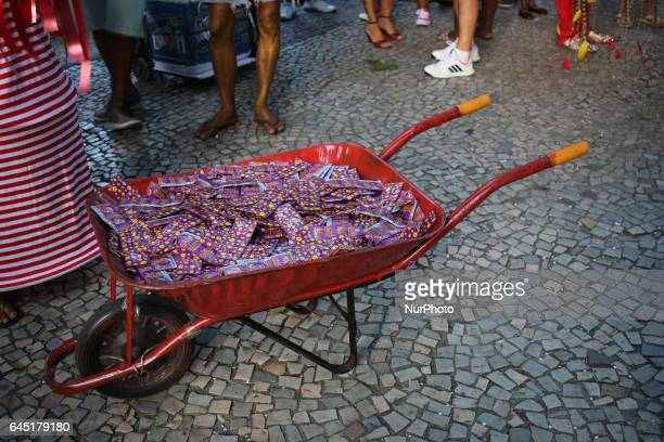 During the carnival in Rio de Janeiro Brazil the government will distribute more than 700000 condoms as well as sachets with lubricants female...