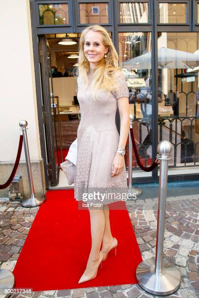 during the Christian Louboutin Store Opening on June 23 2017 in Munich Germany