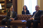 MANSION ATHENS ATTIKI GREECE During the conversation between President of Hellenic Republic Mr Prokopis Pavlopoulos and of General Governor of New...