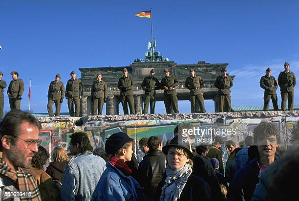 During the day soldiers were on the wall When night came the Germans invaded