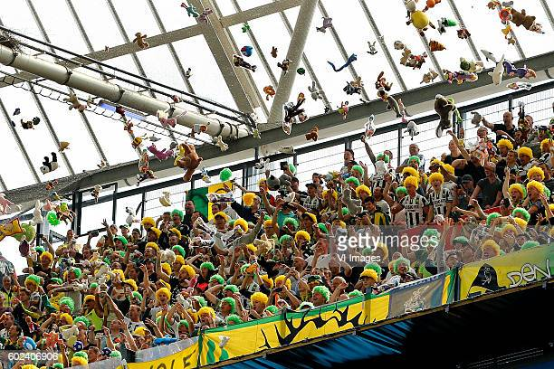 during the Dutch Eredivisie match between Feyenoord Rotterdam and ADO Den Haag at the Kuip on September 11 2016 in Rotterdam The Netherlands