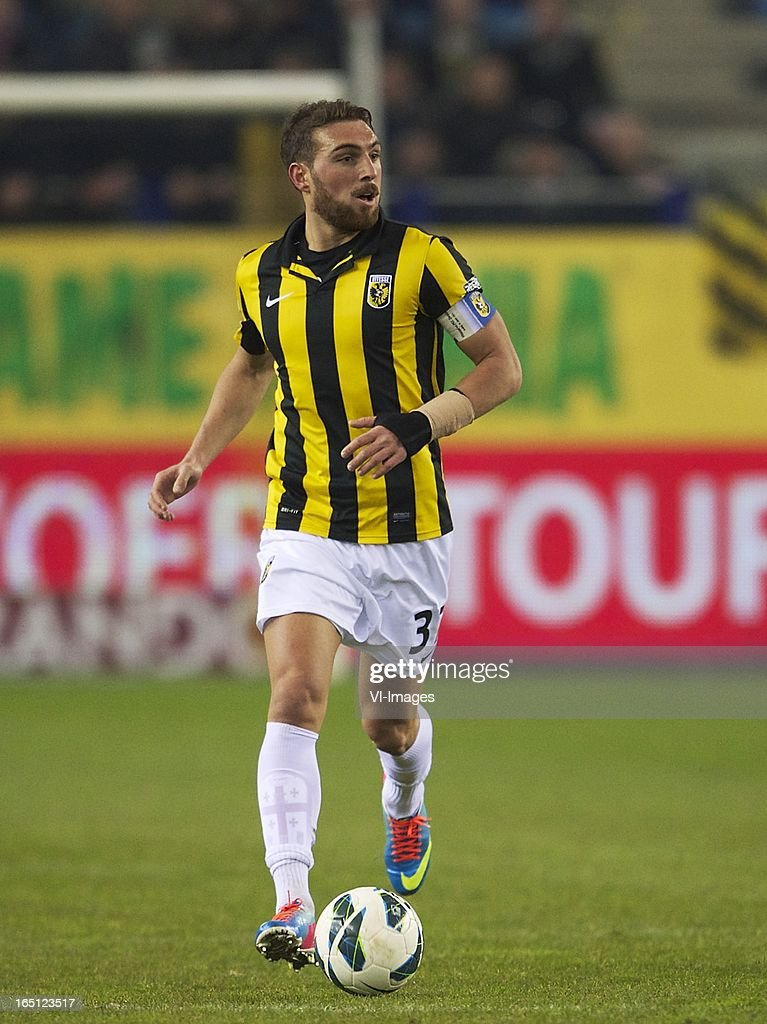 during the Dutch Eredivisie match between Vitesse Arnhem and PEC Zwolle at the Gelredome on march 31, 2013 in Arnhem, The Netherlands