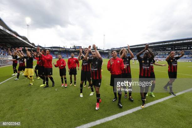 during the Dutch Eredivisie match between Willem II Tilburg and sbv Excelsior at Koning Willem II stadium on August 13 2017 in Tilburg The Netherlands