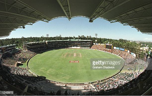 GROUND during THE FIRST DAYS PLAY IN THE SOUTH AFRICA V ENGLAND SECOND TEST MATCH IN JOHANNESBURG Mandatory Credit Graham Chadwick/ALLSPORT