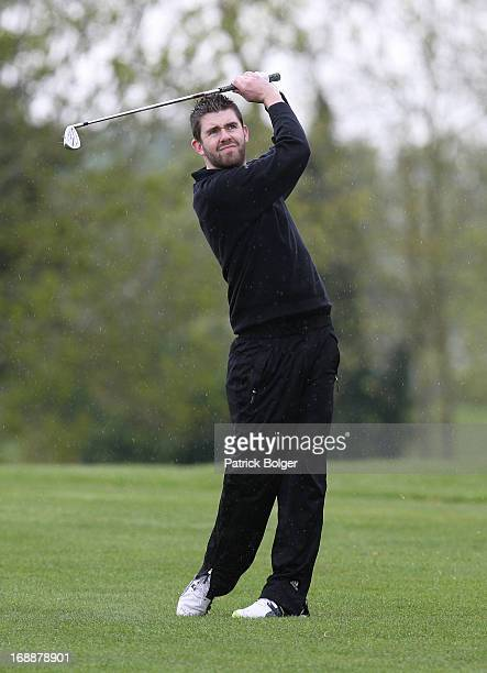 during the Glenmuir PGA Professional Championship Regional Qualifier at Roganstown Golf Club on May 16th 2013 in Roganstown Ireland Fintan Lacey