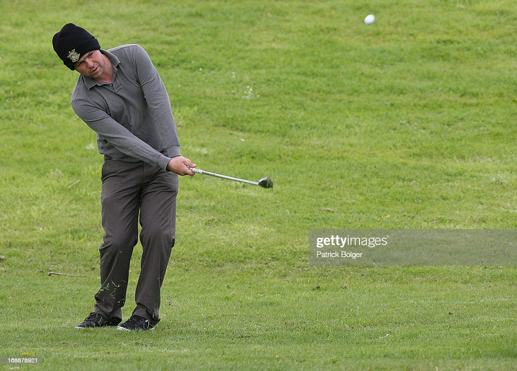during the Glenmuir PGA Professional Championship - Regional Qualifier at Roganstown Golf Club on May 16th, 2013 in Roganstown, Ireland. James Quinlivan