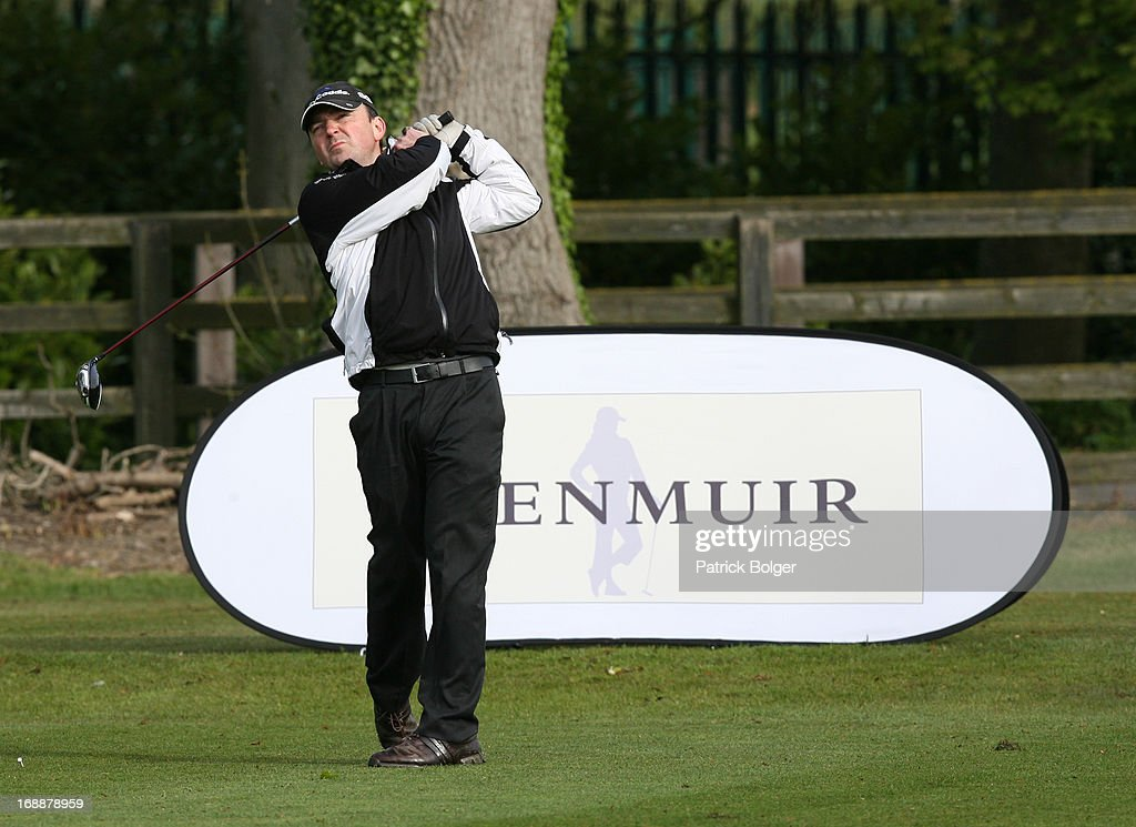 during the Glenmuir PGA Professional Championship - Regional Qualifier at Roganstown Golf Club on May 16th, 2013 in Roganstown, Ireland. Mark Magowan