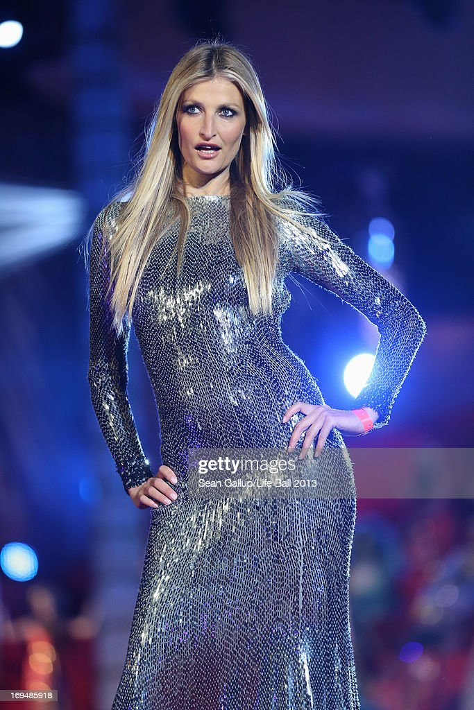 during the 'Life Ball 2013 - Show' at City Hall on May 25, 2013 in Vienna, Austria.