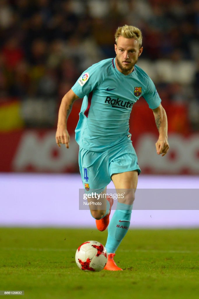 during the match between Real Murcia vs. FC Barcelona, Copa del Rey 2017/18 in Nueva Condomina Stadium, Murcia, Spain on 24th of October 2017.