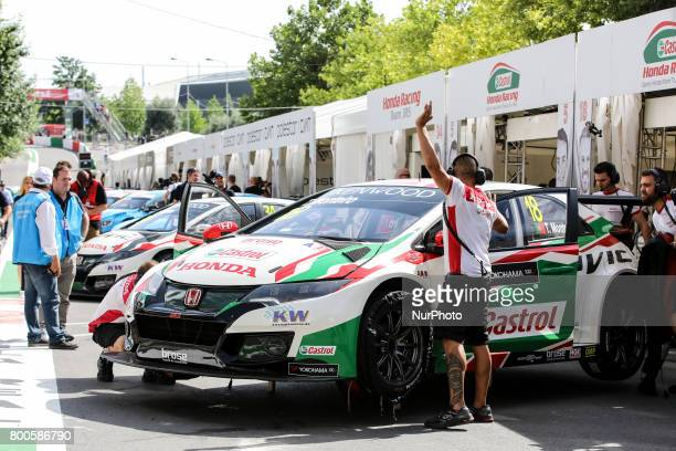 JAS during the Pit Lane of FIA WTCC 2017 World Touring Car Championship Race of Portugal Vila Real June 24 2017