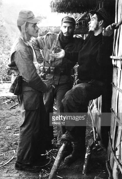 During the revolution Fidel Castro and Che Guevara 19561959 Cuba