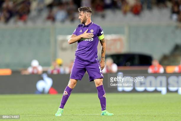 during the Serie A match between ACF Fiorentina and Pescara Calcio at Stadio Artemio Franchi on May 28 2017 in Florence Italy