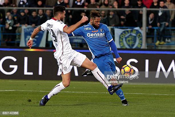 during the Serie A match between Empoli FC and Cagliari Calcio at Stadio Carlo Castellani on December 17 2016 in Empoli Italy