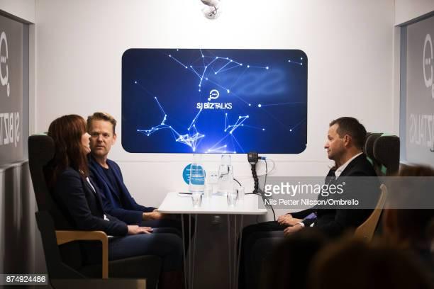 during the Sime Awards at Epicenter on November 16 2017 in Stockholm Sweden