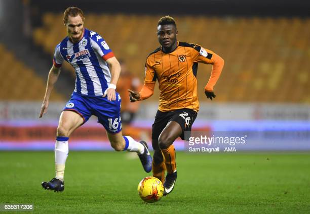 XXX during the Sky Bet Championship match between Wolverhampton Wanderers and Wigan Athletic at Molineux on February 14 2017 in Wolverhampton England