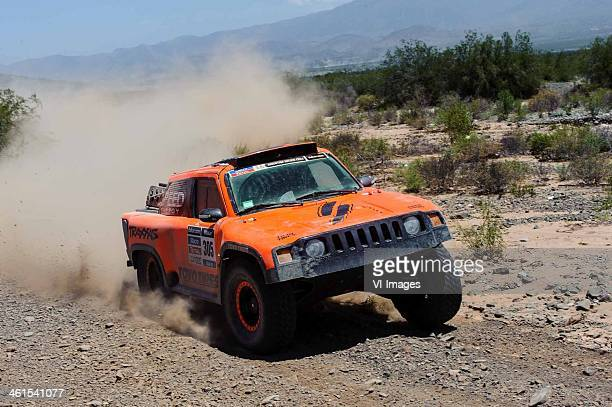 WALCH KELLON /HUMMER CAR during the Stage 3 of the 2014 Dakar Rally between San Rafael and San Juan Argentina on January 7 2014 during the Stage 1 of...