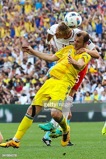 during the UEFA EURO 2016 Group C match between Ukraine and Poland at Stade Velodrome on June 21 2016 in Marseille France OUT Marsylia pilka nozna...