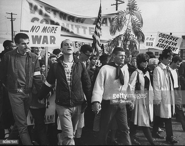 During the Vietnam Day protest march in or near Berkeley