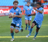 during the Vodacom Cup Quarter Final match between Vodacom Blue Bulls and Eastern Province Kings at Loftus Versveld on May 04 2013 in Pretoria South...