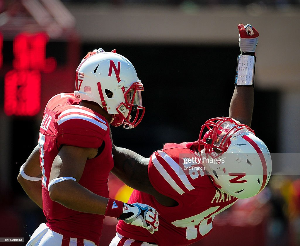 during their game at Memorial Stadium on September 15, 2012 in Lincoln, Nebraska. Nebraska won 42-13.