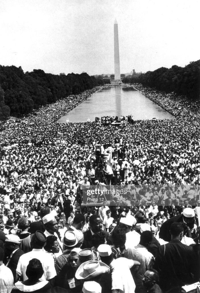 During this 'March on Washington', that gathered 200 000 ...