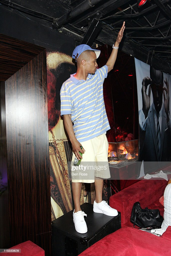 T.I. during 'Welcome to Miami' Party Hosted by Sean 'Diddy' Combs at Suite Nightclub in Miami Beach, FL, United States.