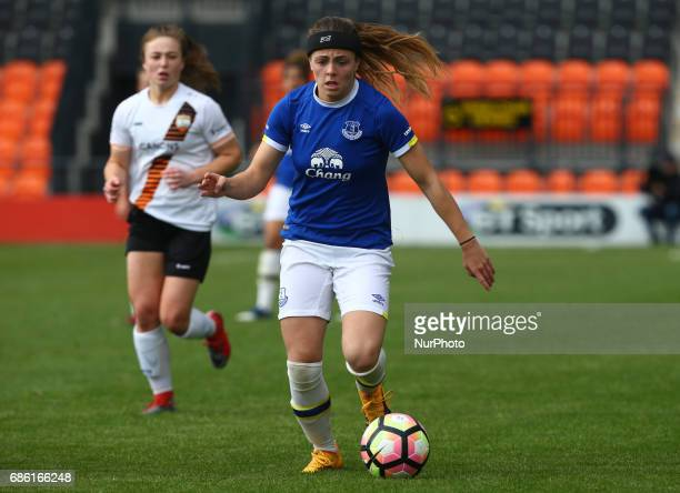 during Women's Super League 2 Spring Series match between London Bees against Everton Ladies at The Hive Barnet FC on 20 May 2017