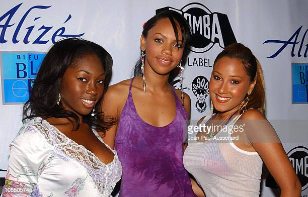 3LW during Zomba Label Group/Alize Bleu PreBET Awards Celebration at Standard Hotel in Los Angeles California United States