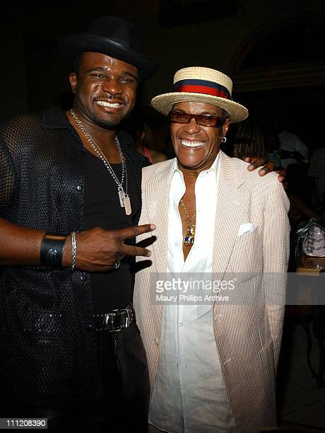 Duris McCrary and George Daniels during 2005 BET Awards After Party Hosted by AM Records Interscope Records and Geffen Records at The Highlands in...