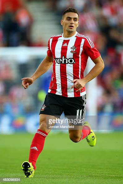 Dusan Tadic of Southampton in action during the UEFA Europa League Third Qualifying Round 1st Leg match between Southampton and Vitesse at St Mary's...