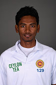 Dushmantha Chameera of Sri Lanka poses for a portrait at Headingley on May 17 2016 in Leeds England