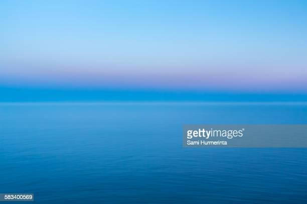 Dusk at the Baltic Sea