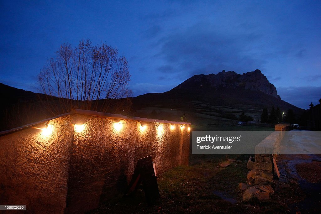Dusk in Bugarath, a small village in the foothills of the Pyrenees on December 20, 2012 in Bugarach, France. Miviludes, the French Government's dedicated sect watchdog, are investigating the likelihood of apocalyptic sect activity or ritualised suicides due to the prophecy of an ancient Mayan calendar which also claims that Burgarach is the only place on Earth which will be saved from the apocalypse on the evening of December 21, 2012.
