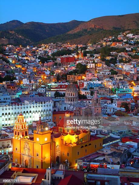 Dusk of Guanajuato
