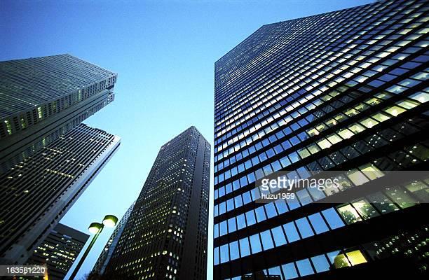 Dusk Skyscrapers