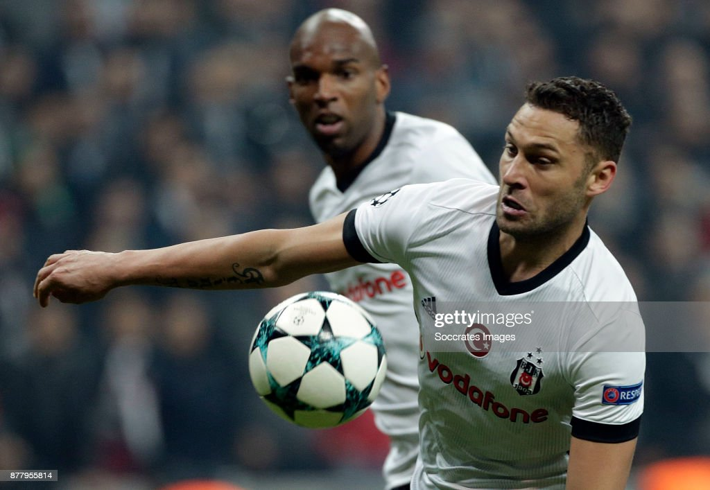 Dusko Tosic of Besiktas during the UEFA Champions League match between Besiktas v FC Porto at the Vodafone Park on November 21, 2017 in Istanbul Turkey