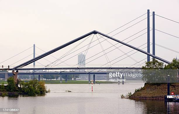 Dusseldorf Bridges spanning the Rhein