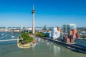 Düsseldorf Medienhafen Skyline