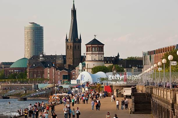 Dusseldorf Old Town, Germany, Europe