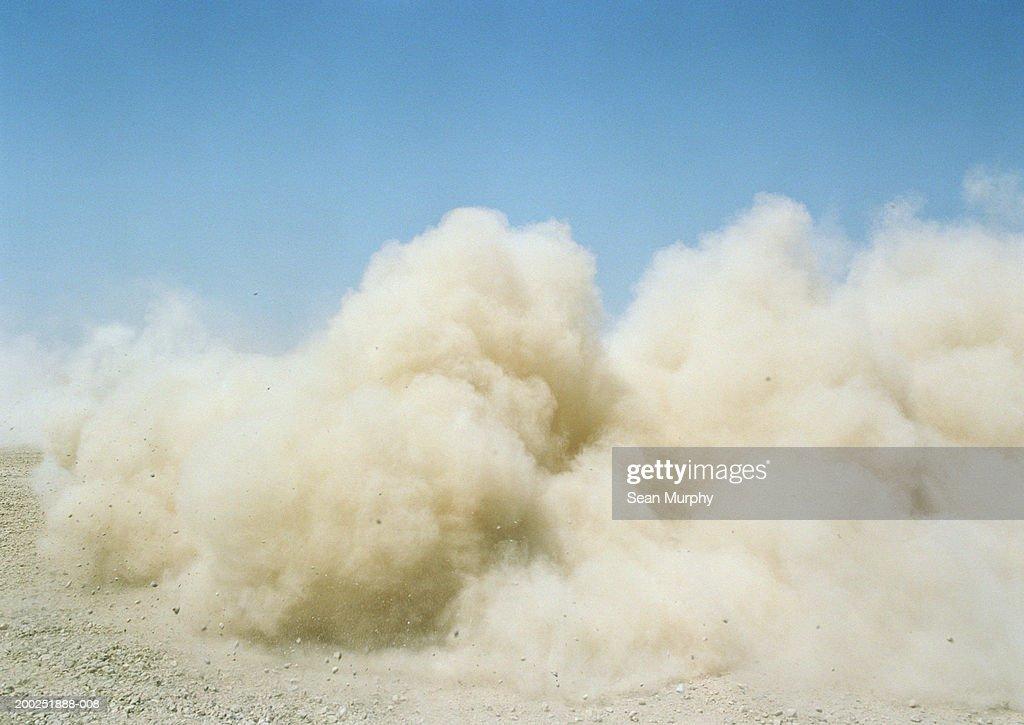 Dust cloud : Stock Photo