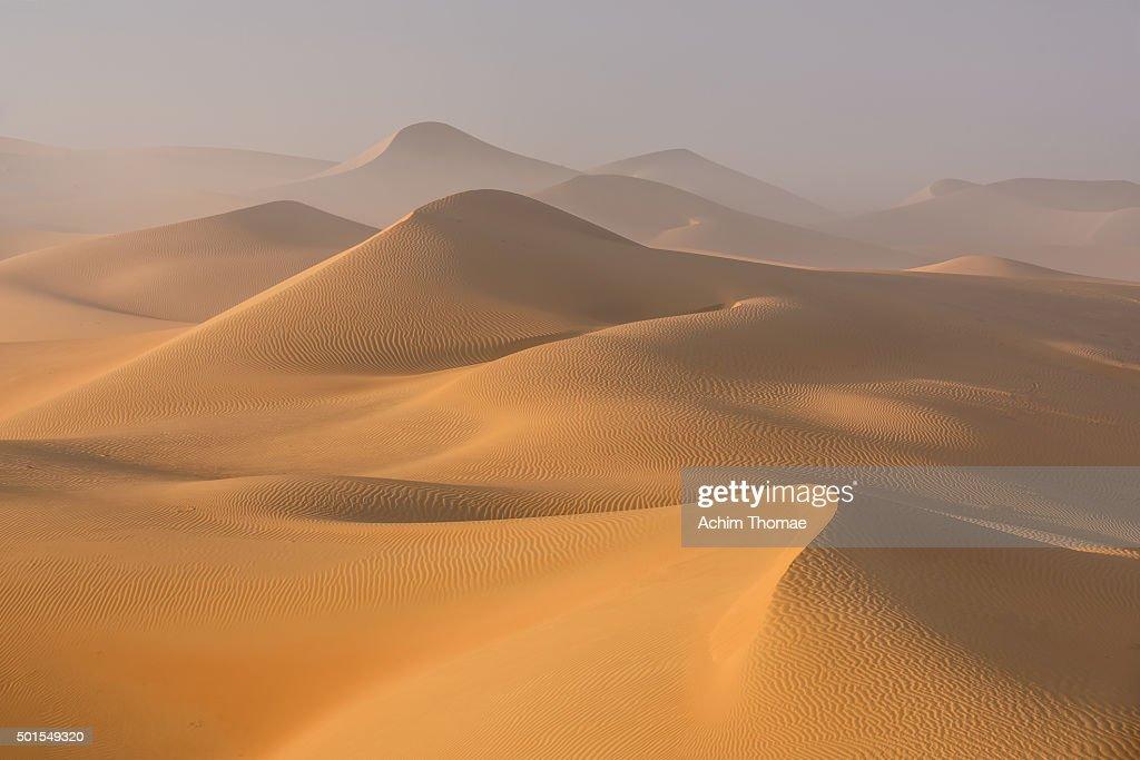Dust in the Rub al Khali Desert