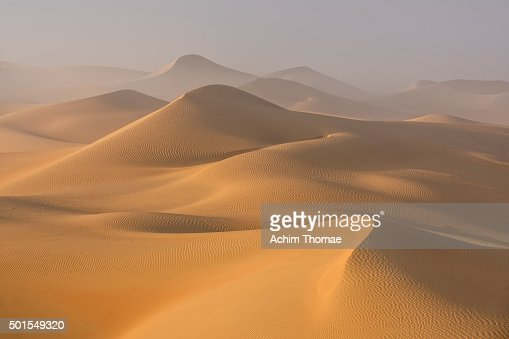Dust in the Rub al Khali Desert